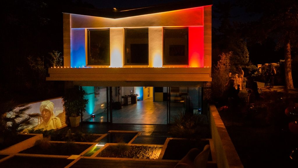 Cocktail & Soirée d'extérieur dans une maison d'architecte