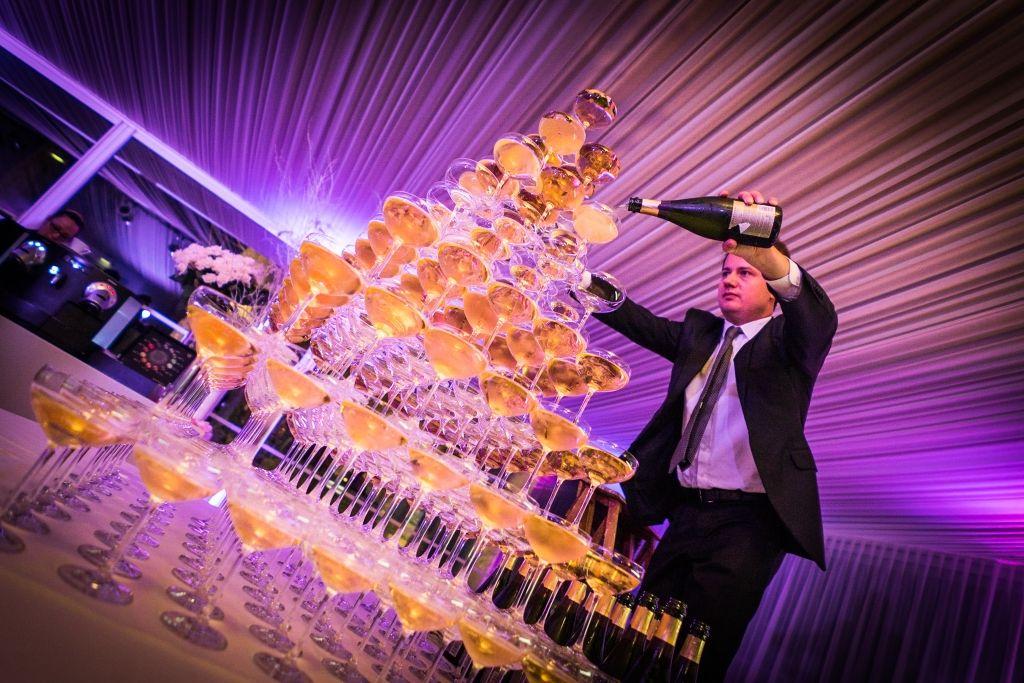 Fontaine de champagne au PreCatelan