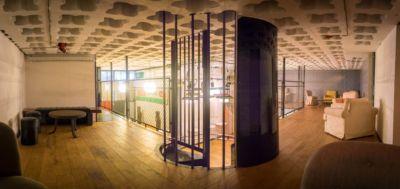 Mezzanine du Loft Industriel