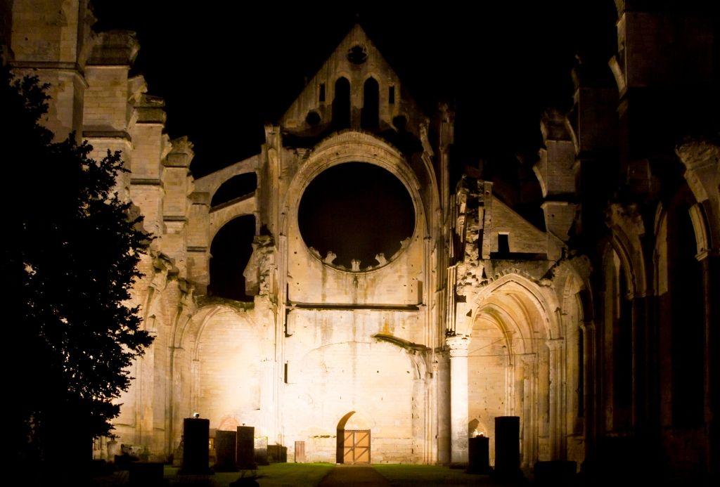 Eclairage de l'Abbaye Longpont