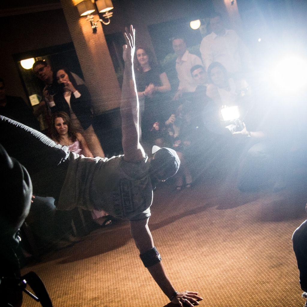 Danseur dans une soirée